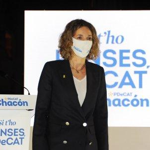 EuropaPress 3538659 candidata pdecat presidencia generalitat angels chacon acto inicio campana