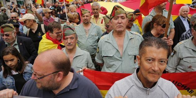 Concentració Legionaris Sergi Alcazar