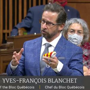 Yves François Blanchet Parlament Canadà
