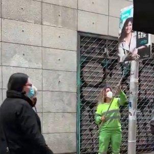 retirada carteles jxcat barcelona