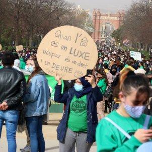 manifestación vivienda PAH Barcelona - ACN