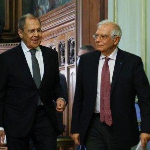 Ministro Exteriores Rusia Sergei Lavrov Alto representante de la UE Exteropres Política Seguridad Josep Borrell