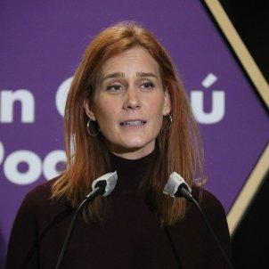 'En Comú Podem, Jéssica Albiach, acto Lloret de Mar.7 febrero elecciones / ACN