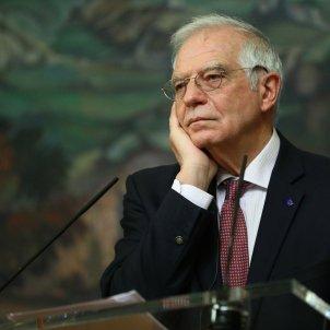 Josep Borrell roda premsa Moscou / EFE