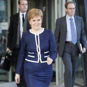 La primera ministra d'Escòcia Nicola Sturgeon Escocia - EFE