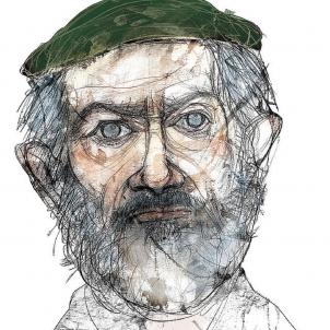 Mor Alexandre de Fisterra, l'inventor del futbolin. Retrat d'Alexandre Fisterra. Font MUNCYT, Eulogia Merle