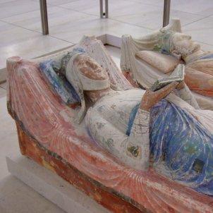 Elionor d'Aquitània i Enric II (Abadia de Fontevraud)