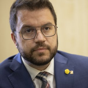 Pere Aragones ERC - Sergi Alcazar