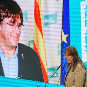 Borràs Puigdemont 14f Lleida / Efe