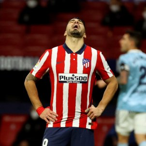 Luis Suárez enfadat Atlético Madrid Celta EFE