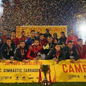 Nàstic de Tarragona Girona Copa Catalunya FCF