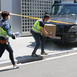 policia nacional documentación consell esportiu hospitalet - ACN