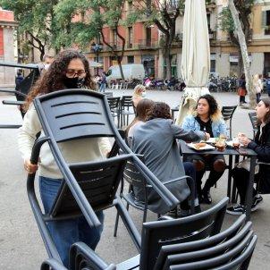 restaurante terraza mascarilla covid - ACN