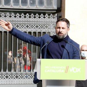 Sanitago abascal vox  mitin tortosa elecciones 14 f / ACN