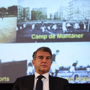 Joan Laporta camps Barca Sergi Alcazar