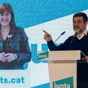 Laura Borràs Jordi Sànchez / Efe