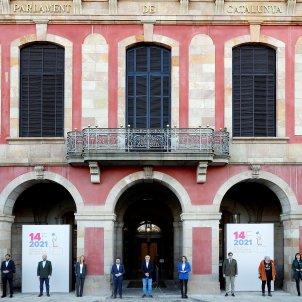 candidatos elecciones catalunya 14 F 2021 Parlament EFE