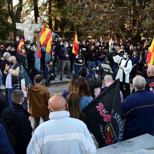 marcha neonazi  División Azul madrid extrema derecha