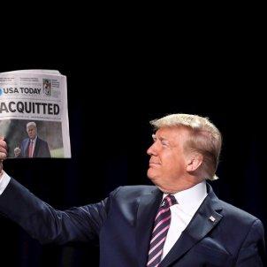Donald Trump absuelto Impeachment - EFE