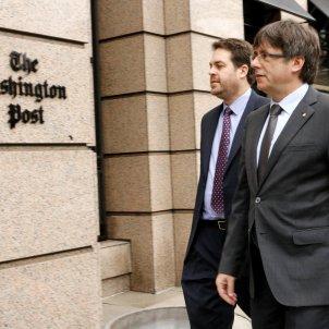 Puigdemont  Washington Post - ACN