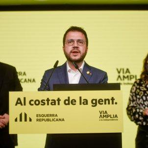 Aragones / Junqueras / postelecciones 15-F / ACN