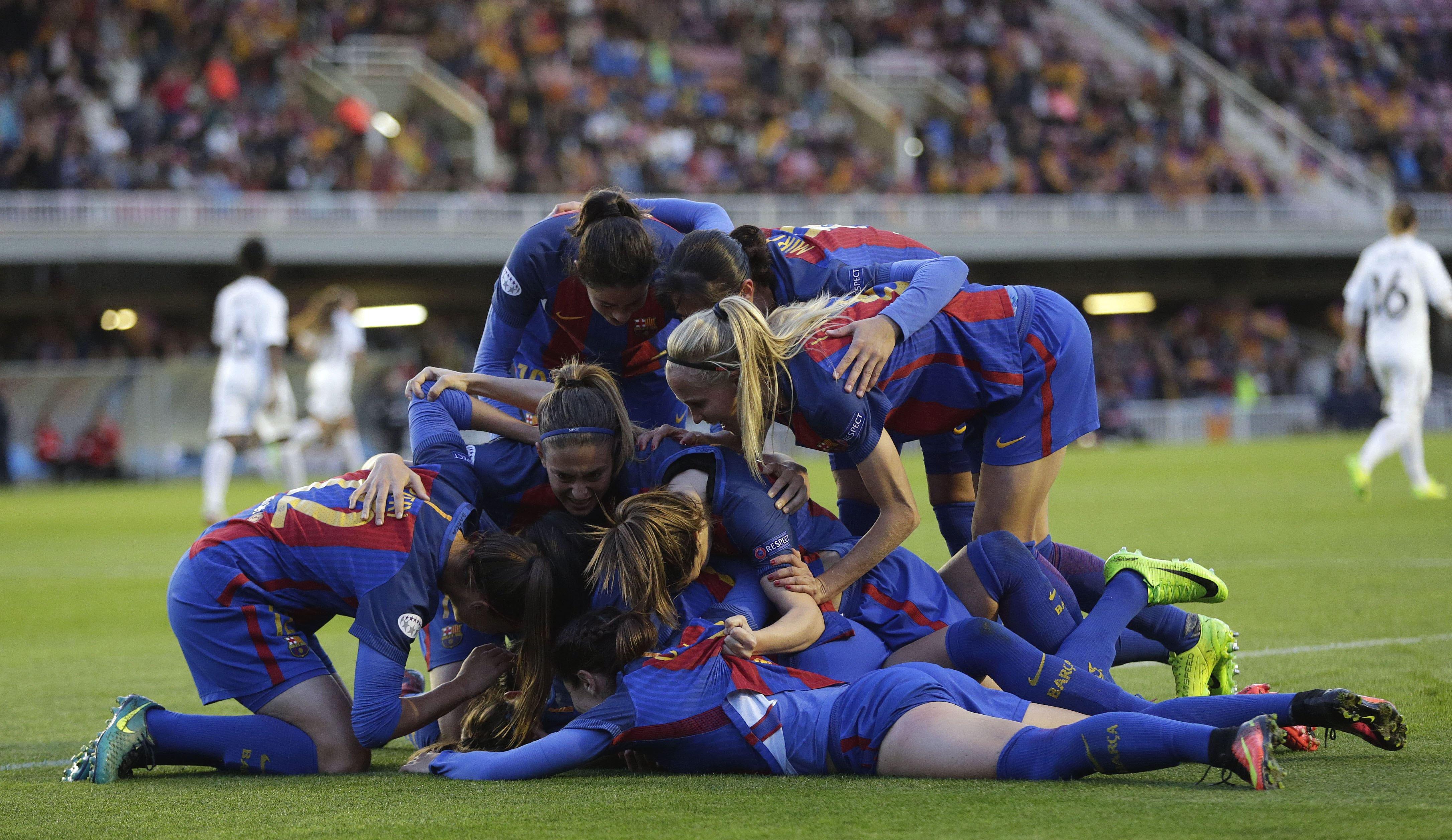 Barça femení Women's Champions League Efe