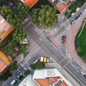 barcelona calles vacías unsplash
