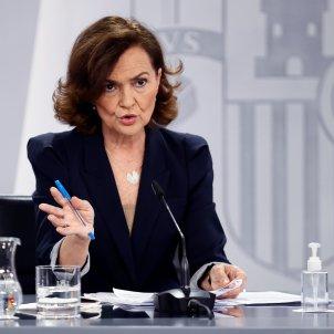 carmen calvo consell ministres efe