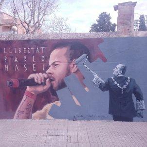 Pablo Hasél mural en Cardedeu_Creative Commons