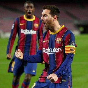 Leo Messi sorprès Barça PSG FC Barcelona