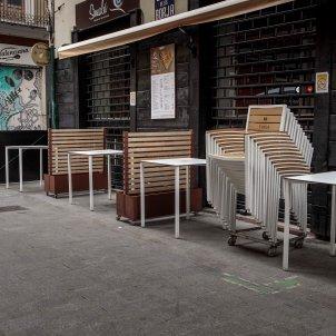 restauracio bars restaurants tancats covid Efe