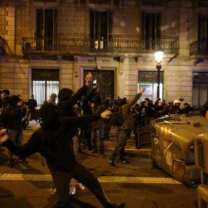 manifestacion detencion pablo hasel barcelona disturbios - Sergi Alcàzar