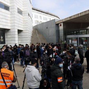 Concentració detinguts Lleida Hasél - ACN