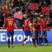 Seleccio espanyola futbol israel EFE