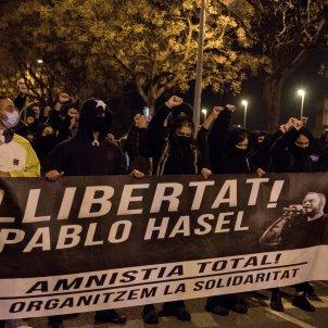 Protesta llibertat Hasél EFE