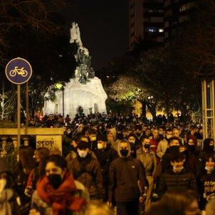 Manifestaciones tercera noche libertad Pablo Hasél /  Sergi Alcàzar
