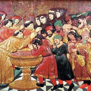 Els Reis Catòlics signen el decret d'expulsió. Bateig massiu