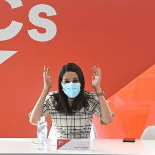 Inés Arrimadas elecciones 14-F EFE