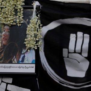 morta cop militar birmania protestes efe