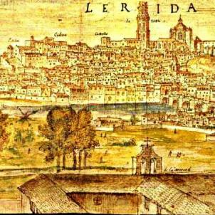 Gravat de Lleida (1563), obra de Wygnaerde. Font Blog Quina la Fem
