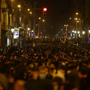 Manifestaciones pablo hasél barcelona 1902 cuarta noche / Sergi Alcàzar