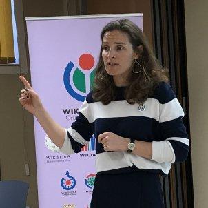 Natalie Picquot 2018 WIKIMEDIA COMMOSN twitter españa Montserrat Boix Wikimedia Commons