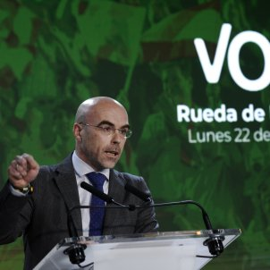 EuropaPress - vicepresidente accion politica eurodiputado vox jorge buxade rueda prensa