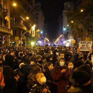 Jefatura Policia Nacional manifestación Hasél 2202 / Pau de la Calle