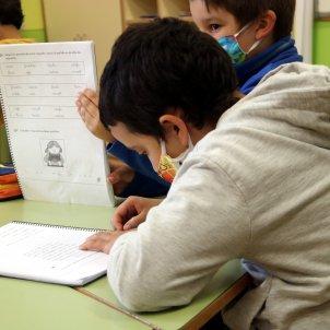 alumnes escola Gósol coronavirus ACN