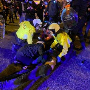 Ferit protestes Hasél Nil Canyelles - Guillem Ramos