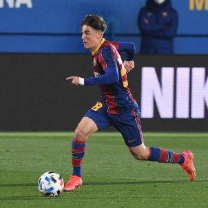 Gavi Barça B debut / FC Barcelona