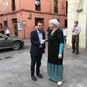 Pere Aragonès ERC Dolors Sabater CUP - @ajbadalona