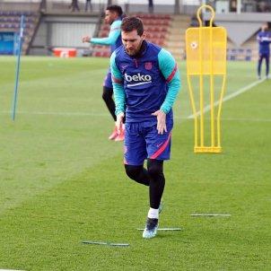 Messi entrenamiento FC Barcelona