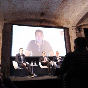Joan Laporta presentació Sergi Alcàzar
